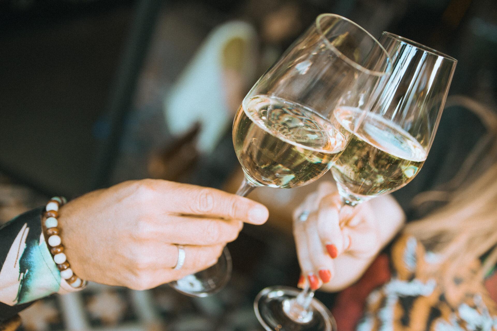 Brindis en Vico Wine Bar.