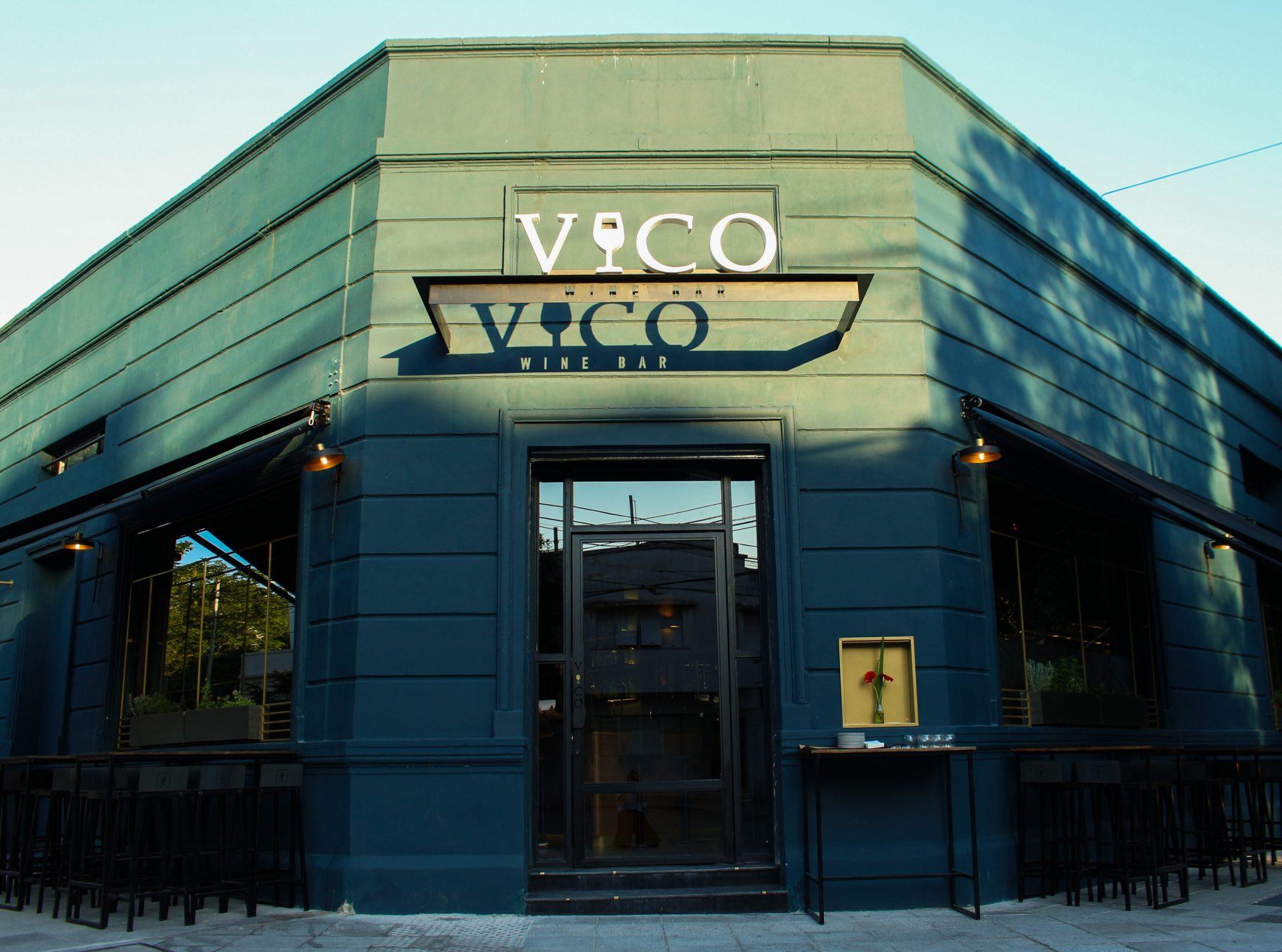 Frente del bar Vico Palermo.