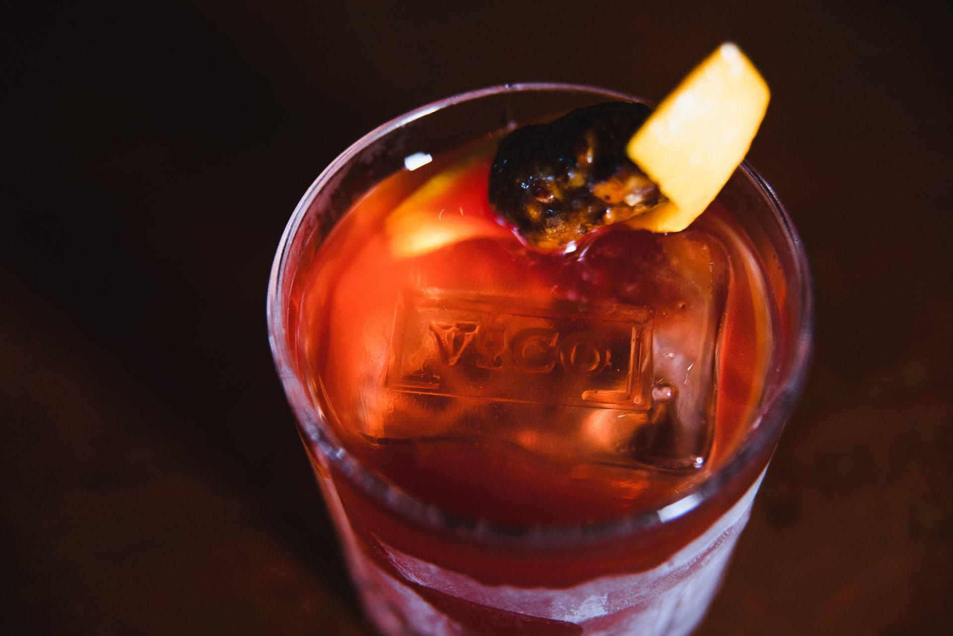 Cocktail del bar Vico Palermo.